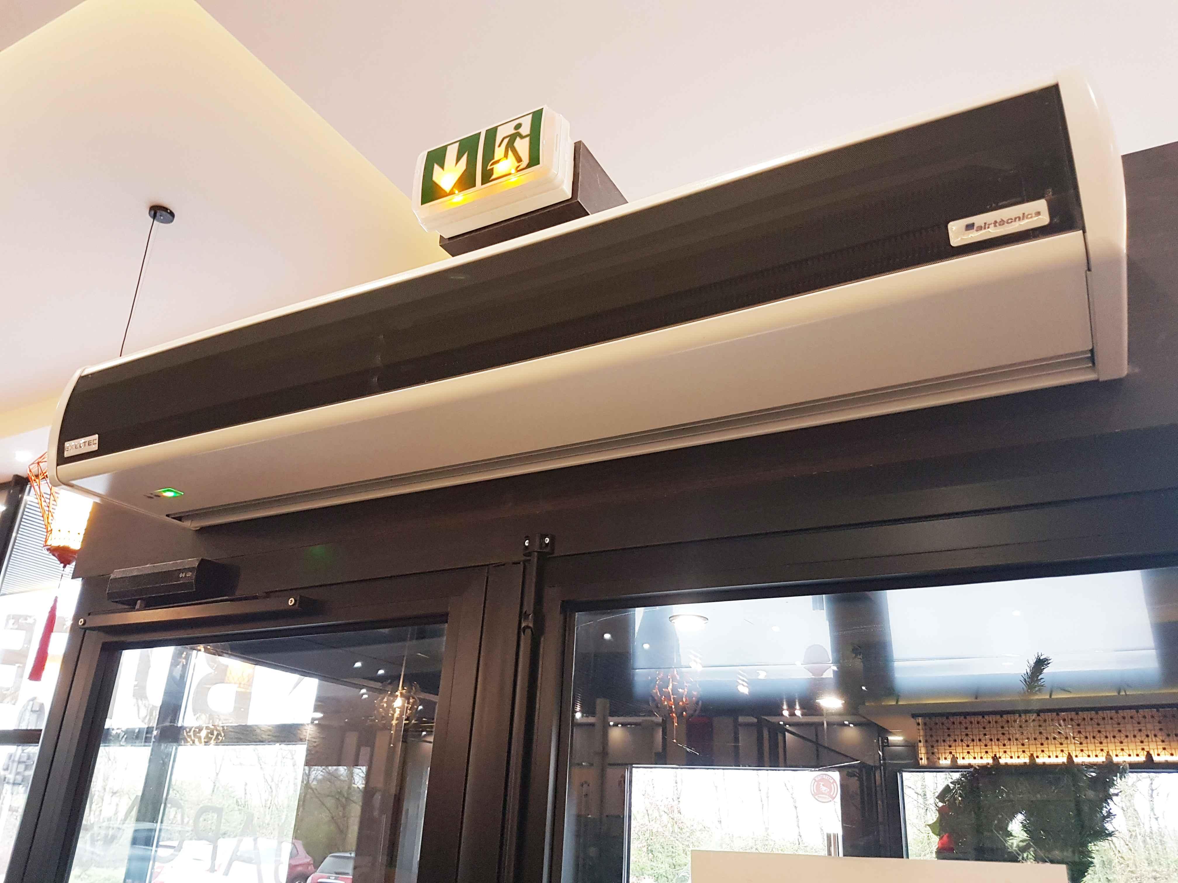 Air Curtain Optima Wireless
